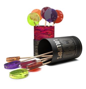 Black Dahlia CBD Lollipop Collection Vol. I